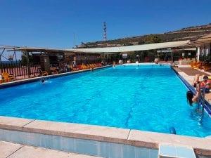כפר הנופש 'נקרות' בראש הנקרה - בריכת שחייה